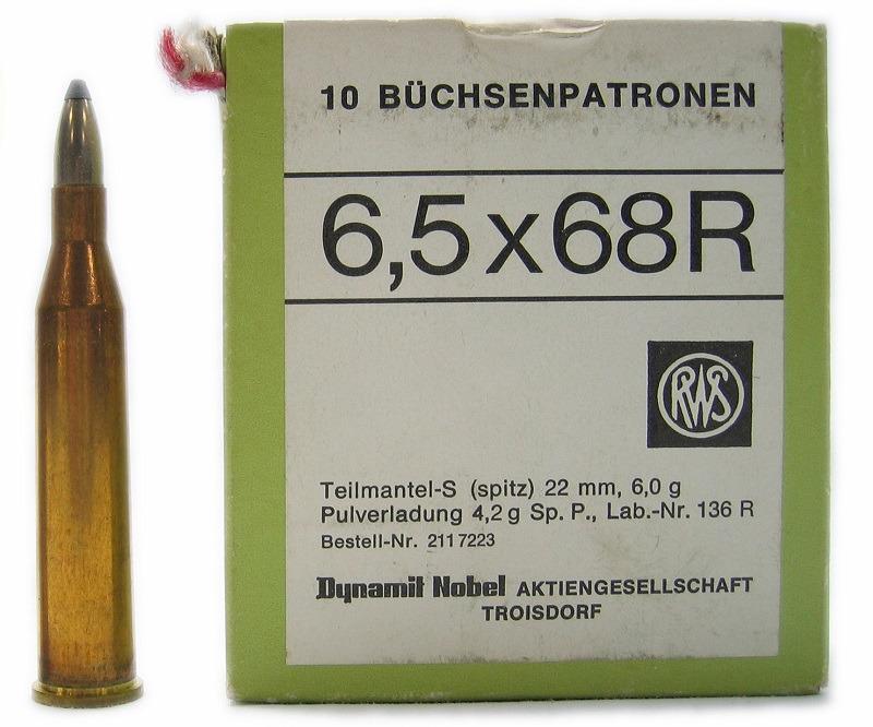 6,5 x 68 R