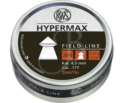 RWS DIABOLO HYPERMAX 4.5 MM