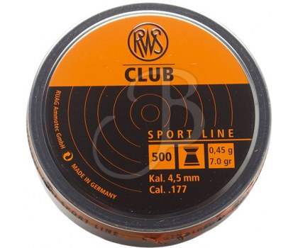 RWS DIABOLO CLUB 10 UITS 4.5 MM