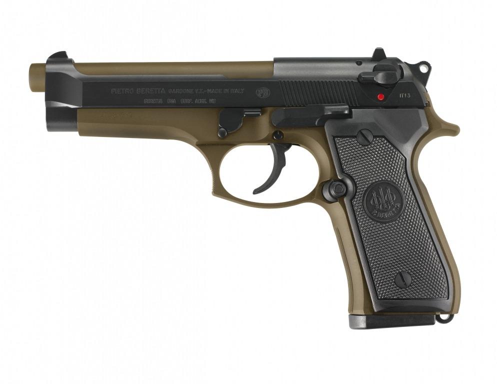 Beretta 98FS SPECIAL MAKE CERAKOTE BRONZE