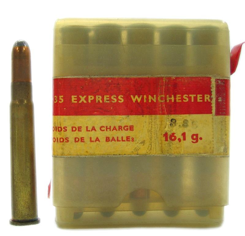 Cartucce Winchester da collezione 35 Express