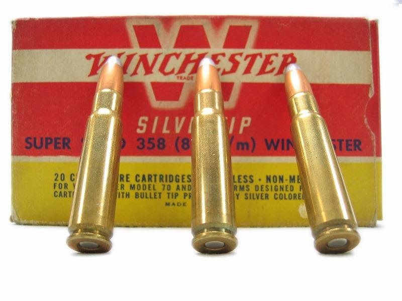 Cartucce Winchester da collezione 357 – 358
