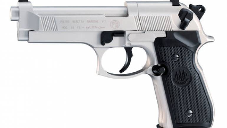 BERETTA 92FS CO2 Nickel