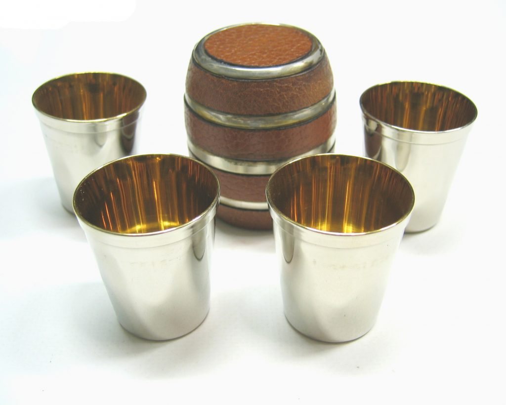 Set 4 bicchierini botte